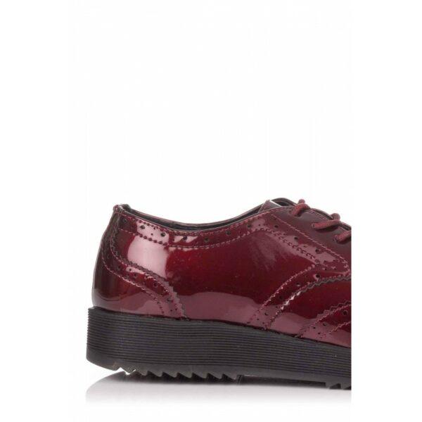 Zapato oxford burdeos