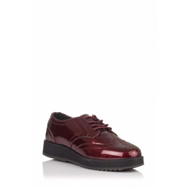 Zapato oxford burdeos