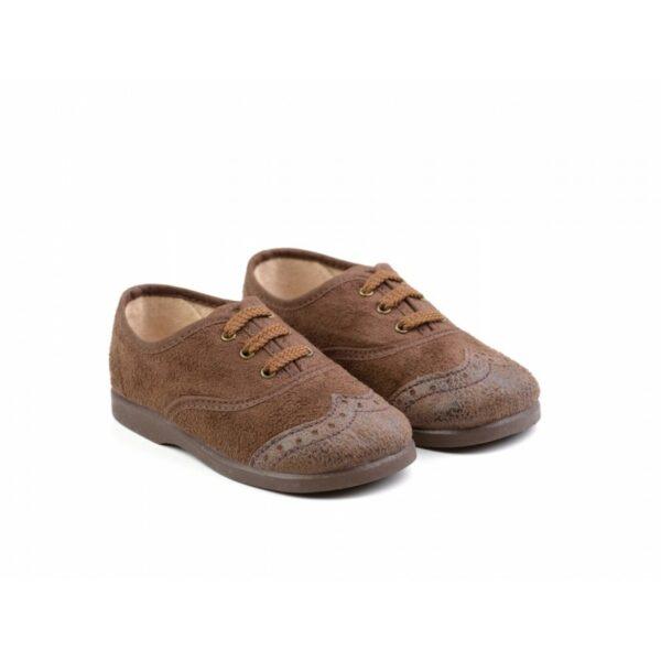 Zapato lona blucher