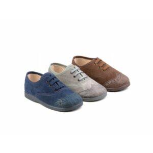 Zapato inglesito de serratex con cordones