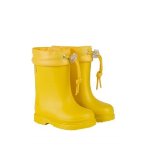 Bota de agua ajustable amarillo