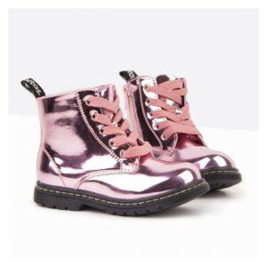 Bota niña rosa