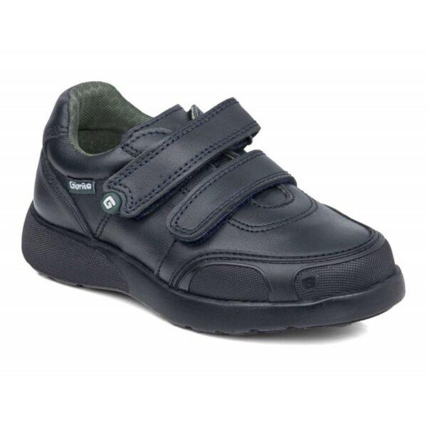 Zapato Deportivo doble velcro marino