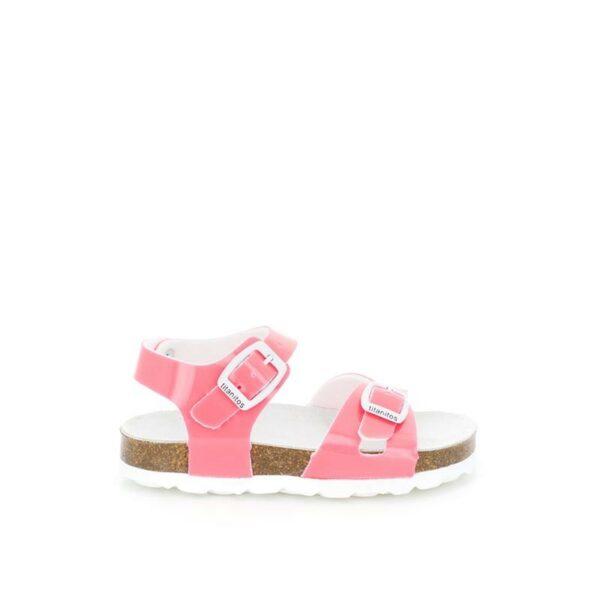 Sandalia bio rosa fluor