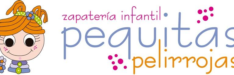 logotipo zapateria infantil pequitas