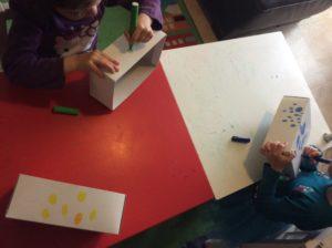 pintar cajas para rciclar en casa coronavirus