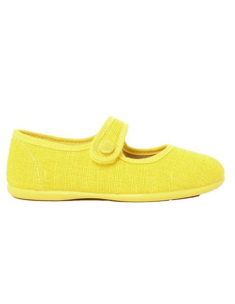 mercedita dse lino color amarillo con velcro