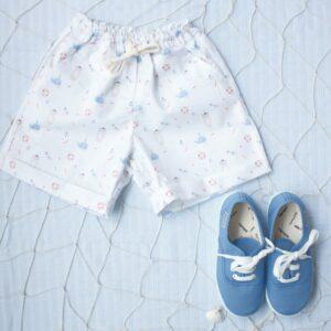 bamba victoria cordones azulón moda infantil española