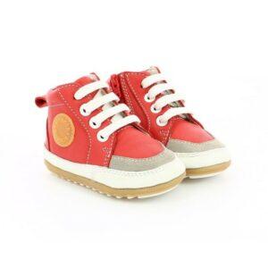 mini me robeez rojo zapato respetuoso